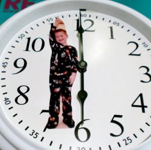 Часы с фотографией